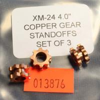 Rick Hinderer 4.0 XM-24 Standoffs Copper Gear Set of 3