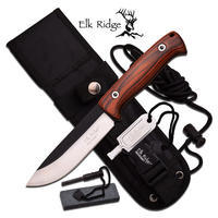 Elk Ridge Fixed Blade Brown