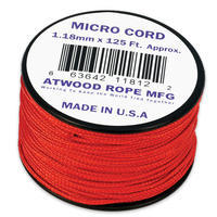 Micro Cord 1.18mm Red