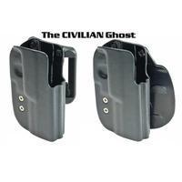 Ghost Int. - Amadini Civilian Carry Holster CZ SP01 / CZ 75D LEVORUKÉ!
