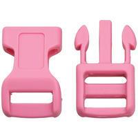 Plastová spona 13mm Buckle Pink