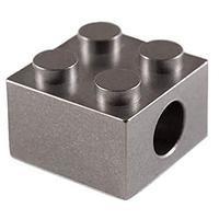 T-Brick Titanium Lanyard Bead