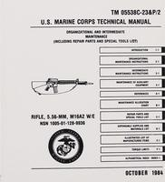 U.S. Marine Corps Technical Manual Rifle 5,56 mm M16A2 W/E