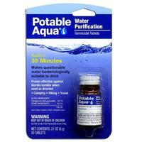Potable Aqua Water Purification 50 Hermicidal Tablets