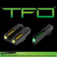 Truglo TFO Set mířidel pro Glock 42/43
