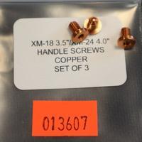 Rick Hinderer 3.5 XM-18 Set Of 3 Handle Screws Copper