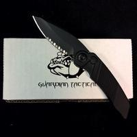 Rat Worx Mini Chain Drive Knife Blade Black Tactical