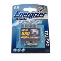 Energizer Ultimate Lithium AA 2ks Blister