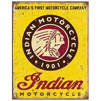 Tin Sign Indian Motorcycle