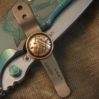 Spartan Blades Clip Bronze Shield
