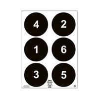 AEGIS papírový terč č. 3 - Černý