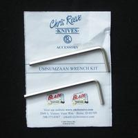 Chris Reeve NEW Umnumzaan Wrench Kit