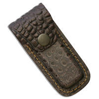 Leather Belt Sheat Aligator Small