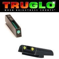 Truglo TFO Tritium/Fiber Opt. Set Yellow pro Glock 9 mm/.40 SW