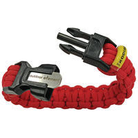 Kodiak Paracord Survival Braid By Outdoor Element Red L