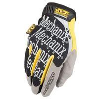 Mechanix Original 0,5 mm Covert Glove High Dexterity Black Yellow Large