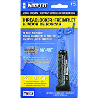 Vibra-Tite Medium Strength Threadlocker Gel Blue 6 ml