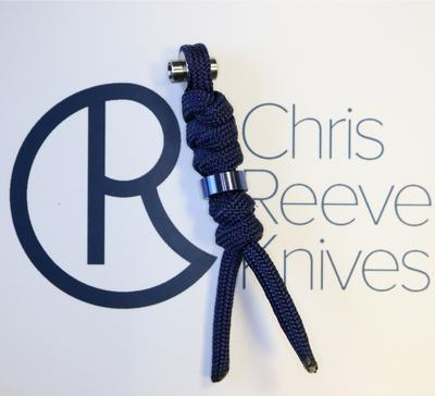 Chris Reeve Lanyard Knotted pro Inkosi Large Modrý