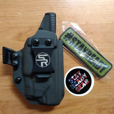 StayReady Holster for G21+APLc - kydexové pouzdro pro Glock 21 se svítilnou APLc - 1