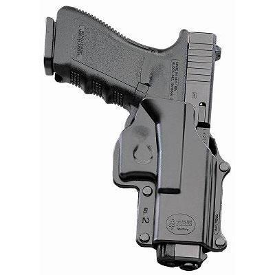Fobus GL-2 BH Pouzdro s průvlekem pro Glock 17; 23...
