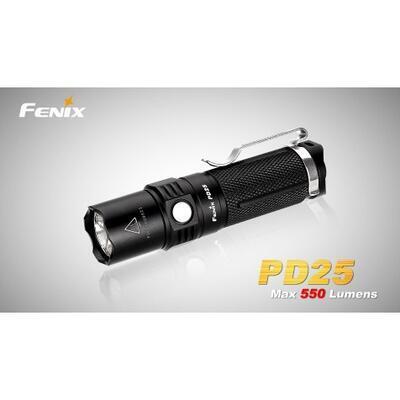Fenix PD25 550 Lum + USB akumulátor
