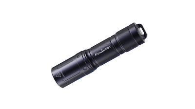 Fenix E01 V2.0 Black - Přívěsková mini svítilna