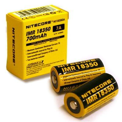 NiteCore Akumulátor 18350A; 700 mAh