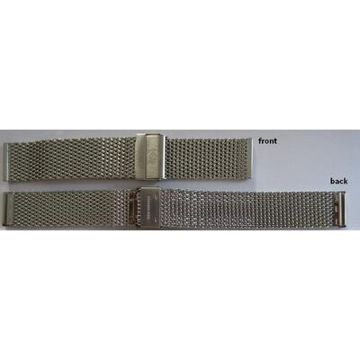 Tauchmeister Ocelový tah k hodinkám 22 mm