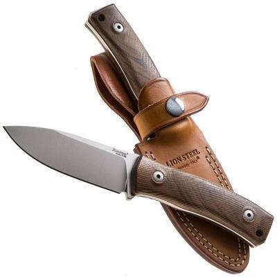 LionSTEEL M4 Satin Blade Walnut