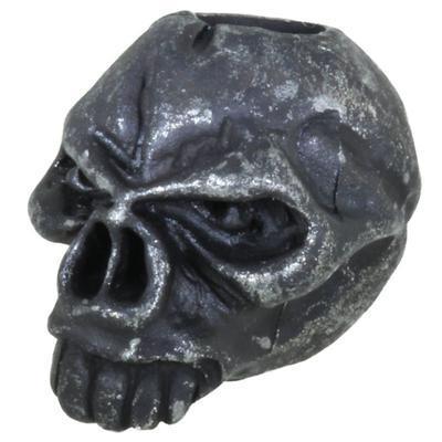 Schmuckatelli Emerson Skull Black Oxidized
