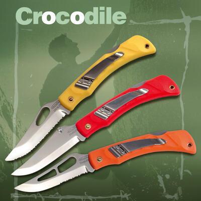 Mikov Krokodyl s pojistkou oranžový polozubatý