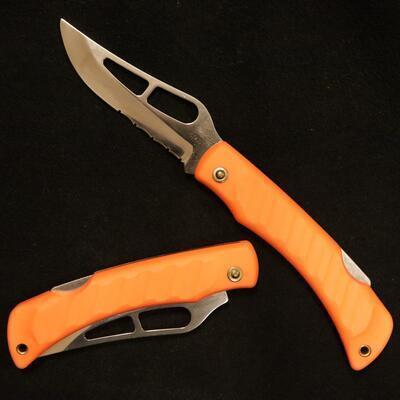 Mikov Krokodyl s pojistkou oranžový polozubatý - 1