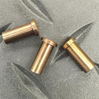 Rick Hinderer 3.5 XM-18 Handle Nut Ti Set Of 3 Bronze