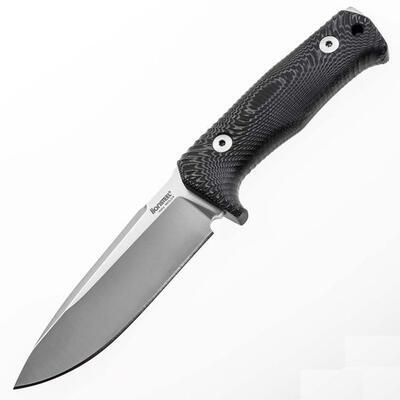 LionSTEEL T5 Fixed Knife Niolox Micarta - 1