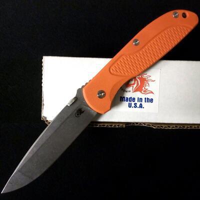 Rick Hinderer Firetac Spanto Working Finish Orange G-10