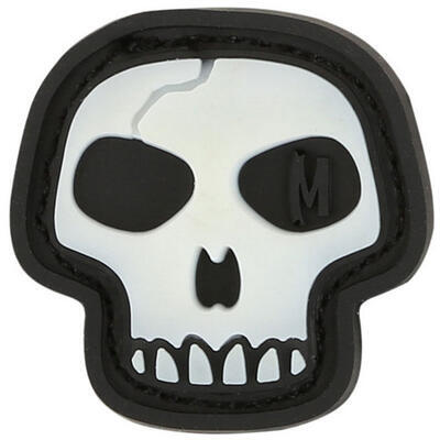 Maxpedition Mini Skull Glow - Nášivka
