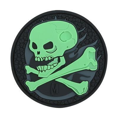 Maxpedition Skull Glow - Nášivka