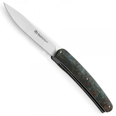 Maserin Gourmet Knife Blue Wood