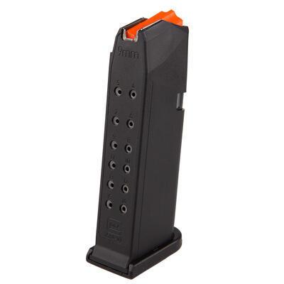 Glock zásobník s oranžovým podavačem pro Glock 19 - 15 ran