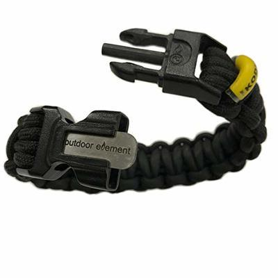 Kodiak Paracord Survival Braid By Outdoor Element Black L