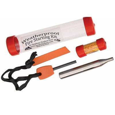 Epiphany Outdoor Gear Weatherproof Fire starter kit