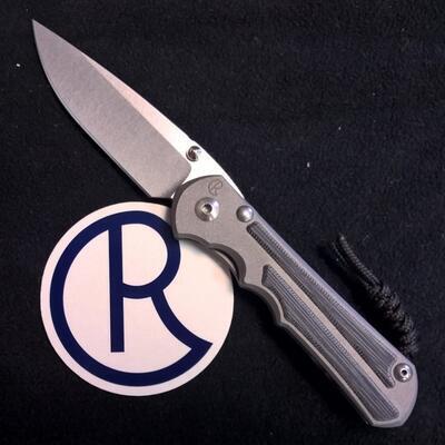 Chris Reeve Knives Inkosi Large Black Micarta Inlay