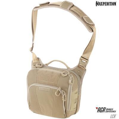 Maxpedition Lochspyr 5,5L Crossbody Shoulder Bag Tan