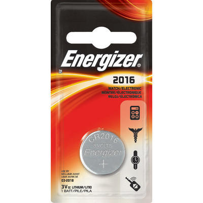 Energizer CR 2016 Lithium 3V