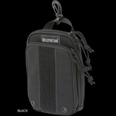 Maxpedition Ziphook Pocket Organizer -XL Black
