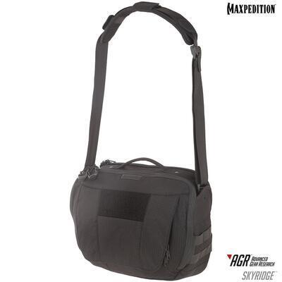 Maxpedition Skyridge 12,5L Tech Messenger Bag Black