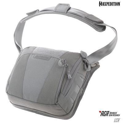 Maxpedition Lochspyr 5,5L Crossbody Shoulder Bag Gray
