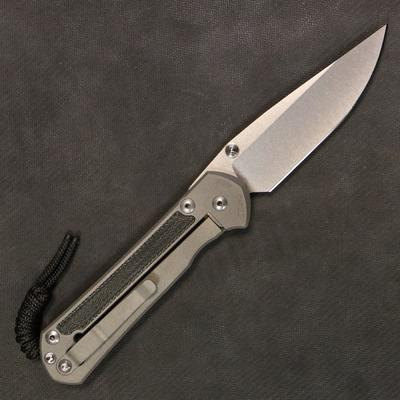 Chris Reeve Sebenza 21 Large Micarta Inlay Double Lug - 1