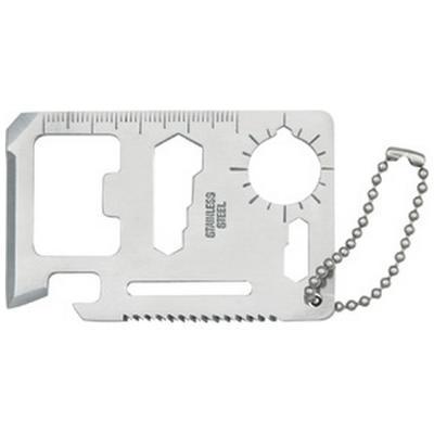 Tomahawk Survival Card Silver