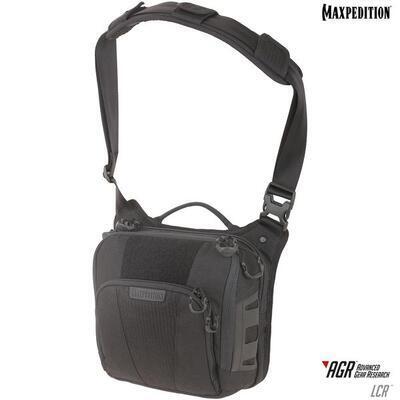 Maxpedition Lochspyr 5,5L Crossbody Shoulder Bag Black